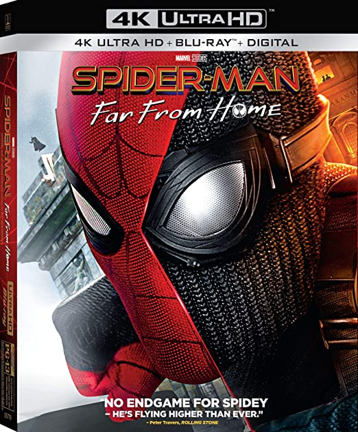 Amazon Com Spider Man Far From Home Blu Ray Tom Holland