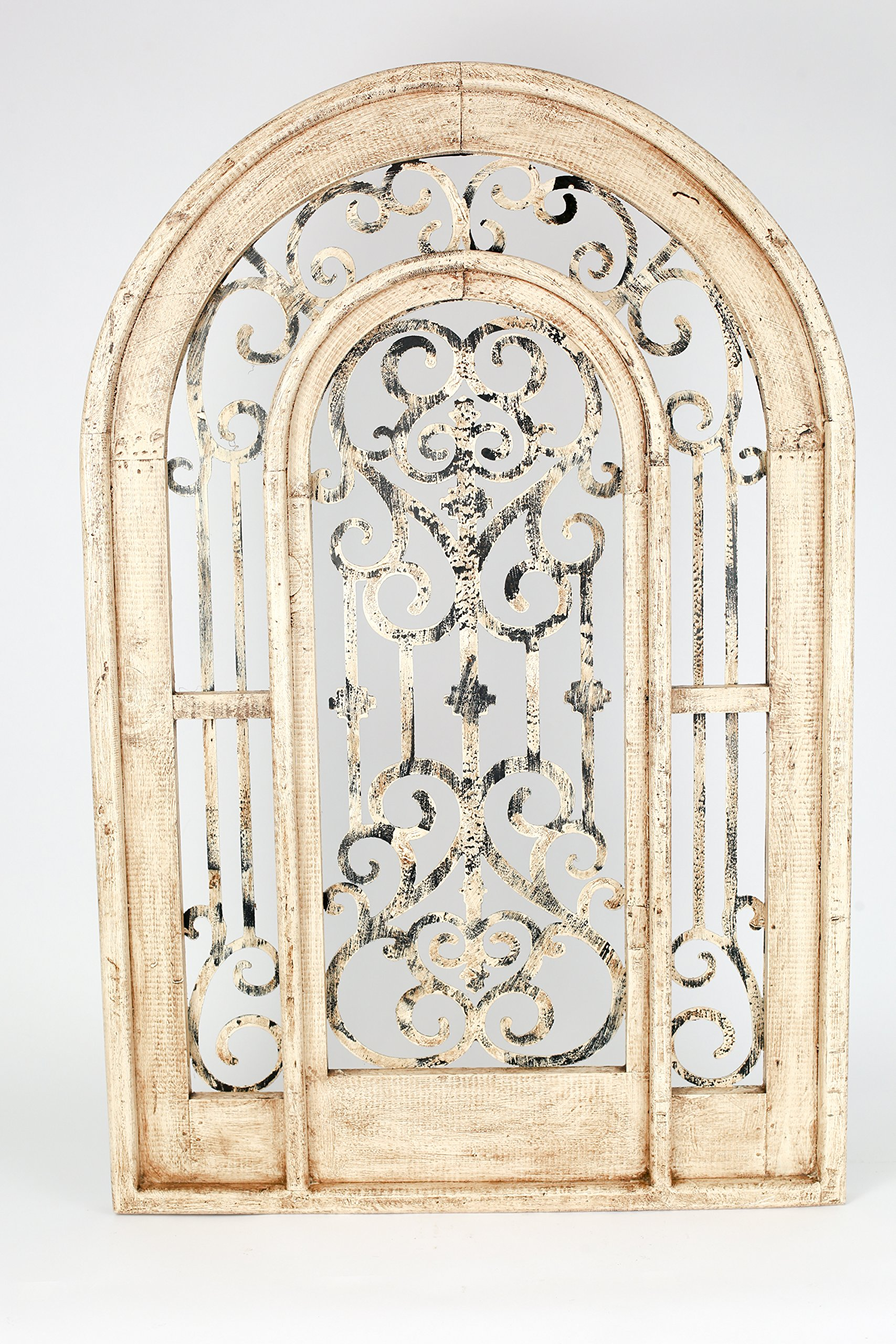 Istanbul Architectural Window-Distressed White