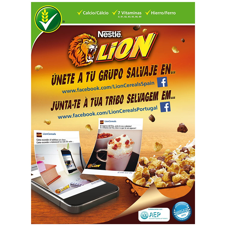 Amazon.com: Lion - Cereals with Caramel and Chocolate Cream 2Pack (Valentinas Market):