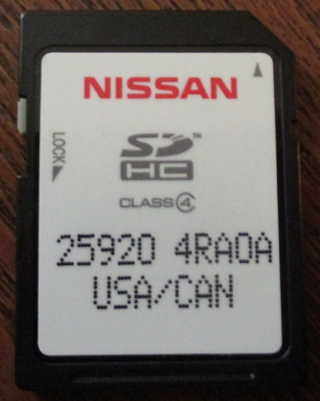 Genuine Nissan Memory Card 25920-4RA0A