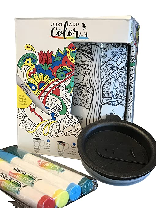 Add Sip And Mug Markers Color Coffee Includes Food Just Travel 4 Safe LidBaketree qzVLSUMpG