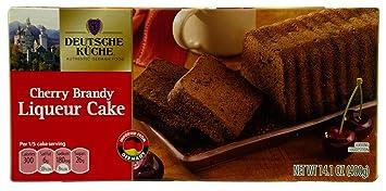Amazon Com Deutsche Kuche Authentic German Liqueur Cake Imported