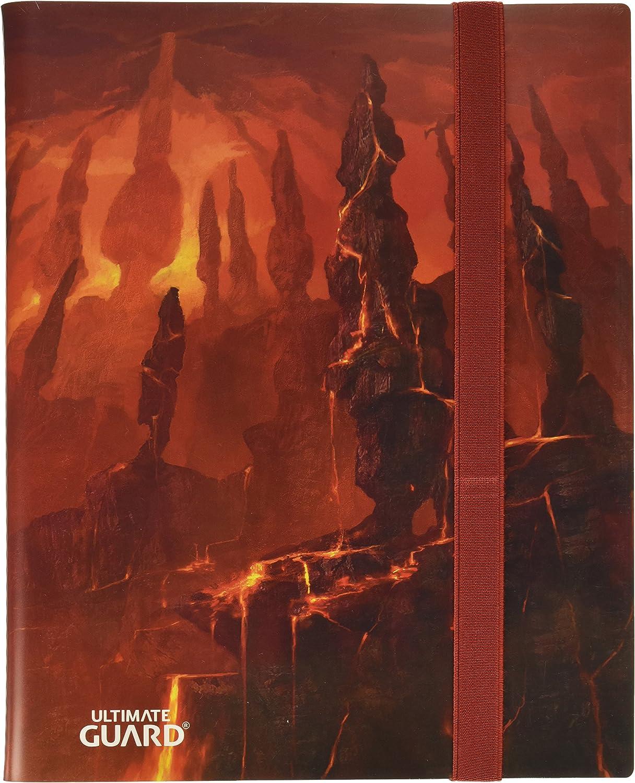Ultimate Guard Ugd010836//à anneaux 9 version anglaise pocket Flexxfolio Lands Edition DE Montagne I Jeu de cartes