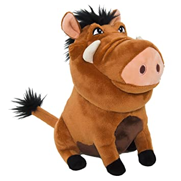 Amazon.com: Joy Toy - The Lion King Plush Figure Pumba 25 cm: Toys & Games