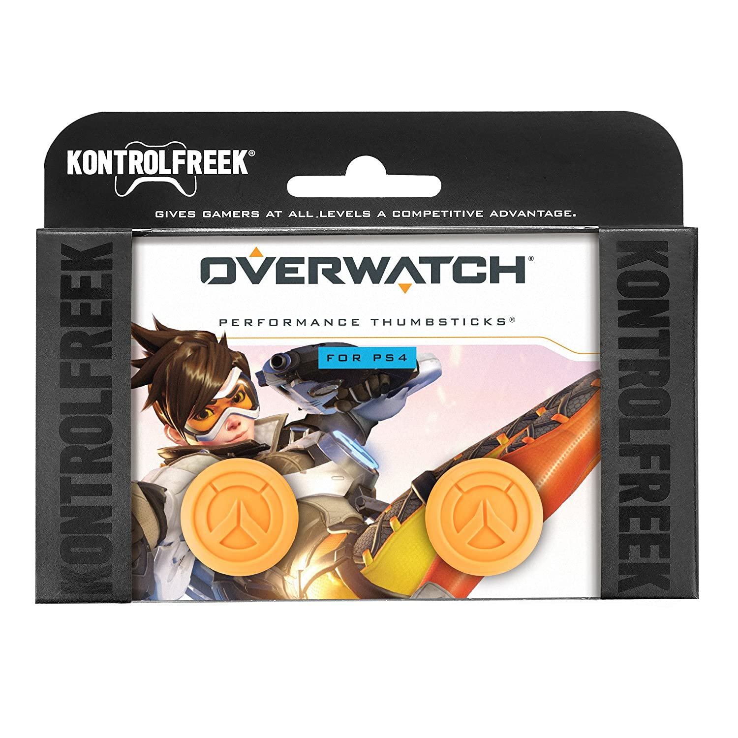 Kontrolfreek Overwatch Performance Thumbsticks For Ps4overwatch Reg 2 Playstation 4 Controller Ps4 Video Games