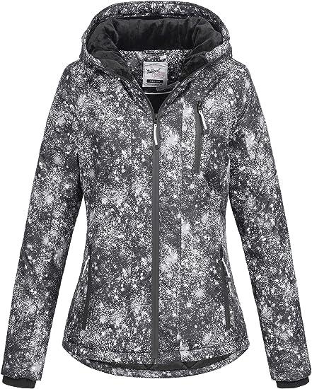 Sublevel Damen D5174X44400A Winterjacke Jacke mit gefütterter Kapuze 9 Farben XS XL