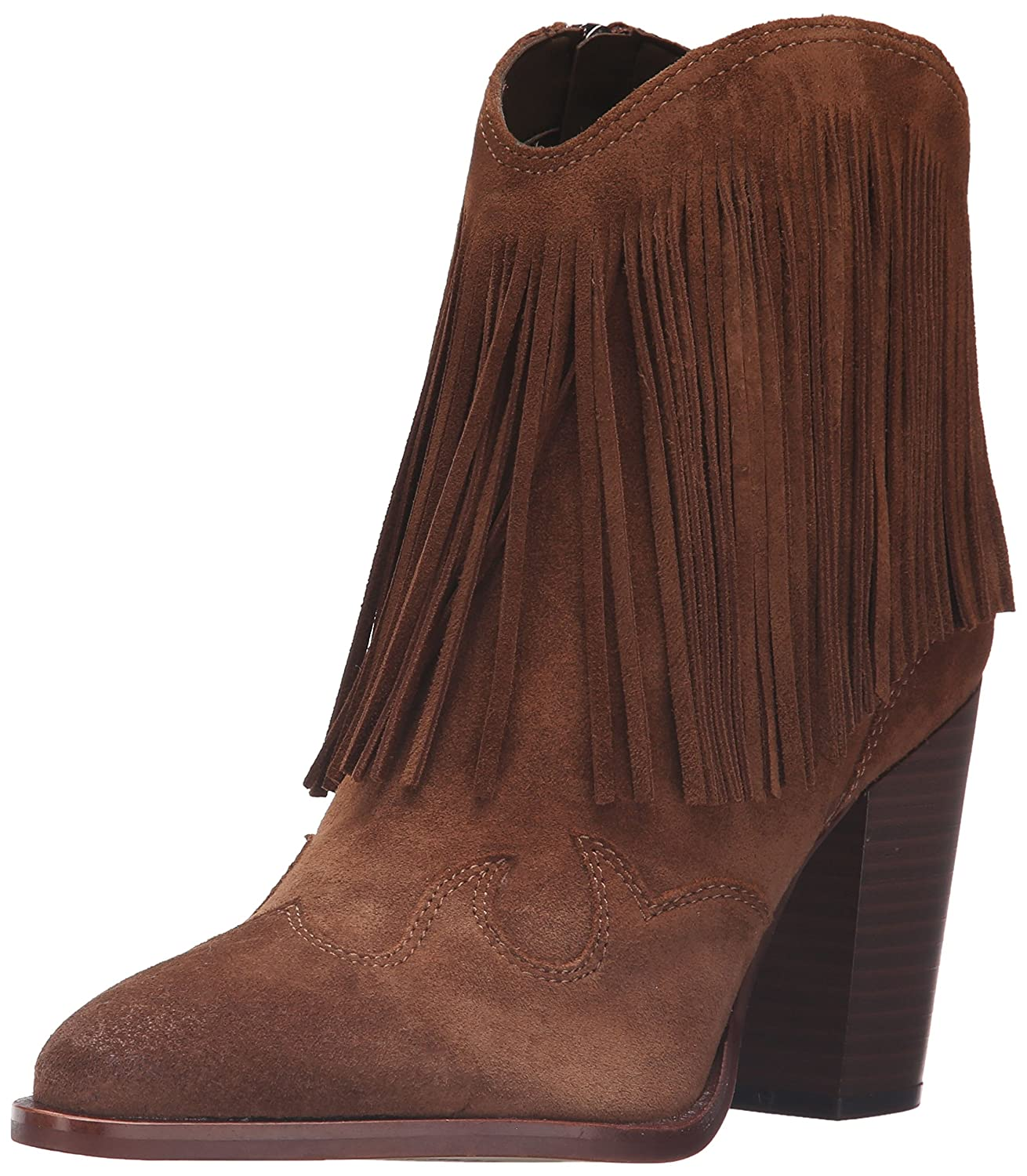 Sam Edelman Women's Benjie Ankle Bootie B01AX9BHDG 7.5 B(M) US|Woodland Brown