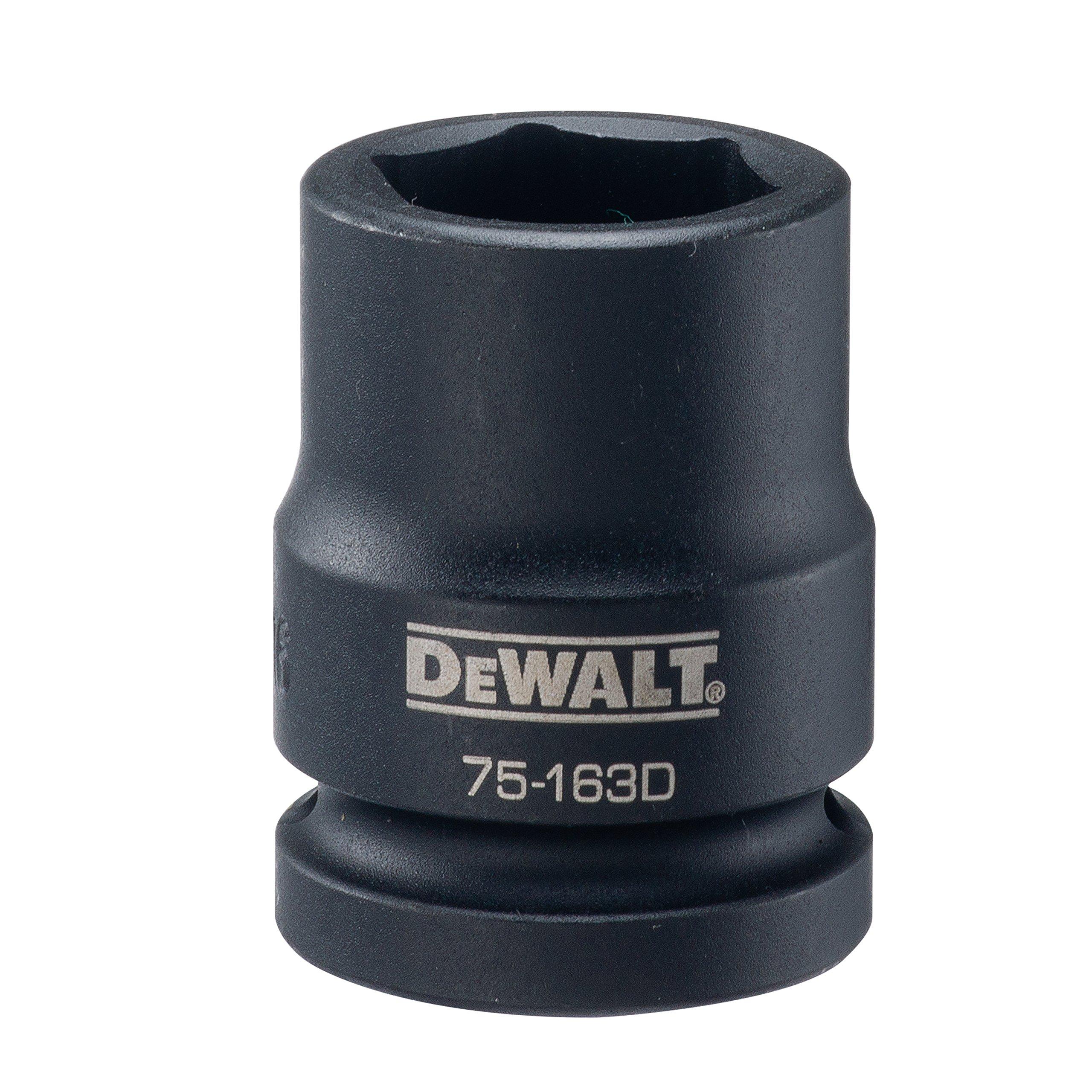 DEWALT 3/4'' Drive Impact Socket 6 PT 15/16