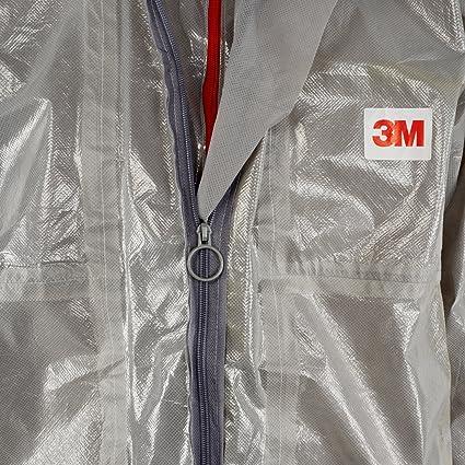 3M 45702XL Schutzanzug Gr/ö/ße 2XL Grau Typ 3//4//5//6