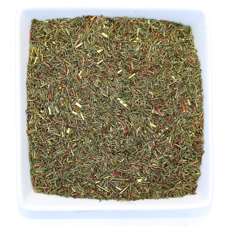 Tealyra - Green Rooibos - Pure Herbal Loose Leaf Tea - Antioxidants Rich - Relaxing Tea - Caffeine-Free - Organically Grown - 220g (8-ounce)