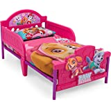 Paw Patrol 3D Footboard Toddler Bed with Bedguard