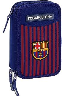 Barça Estuche Plumier Triple FC Barcelona 3 Cremalleras 3 ...