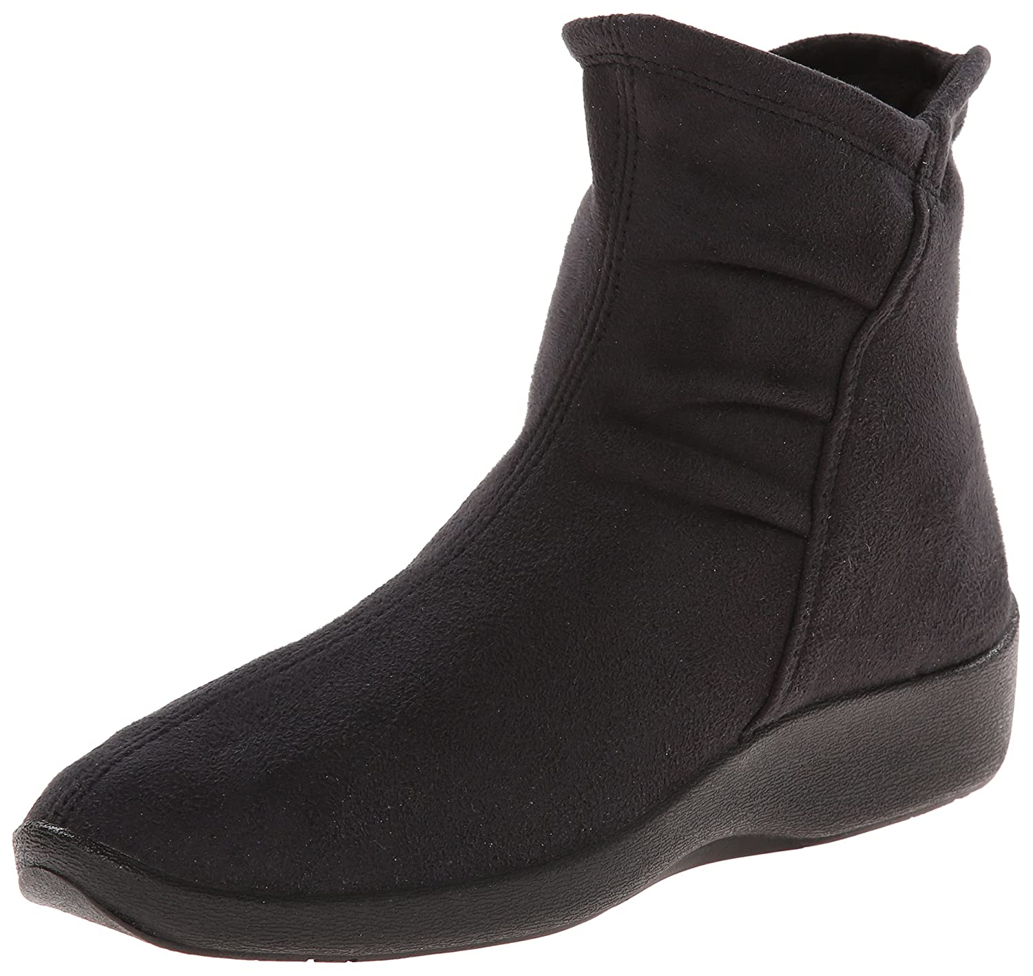 Arcopedico Women's L19 Boot B003EJADOC 42 (US Women's 10.5-11) M|Black Faux Suede
