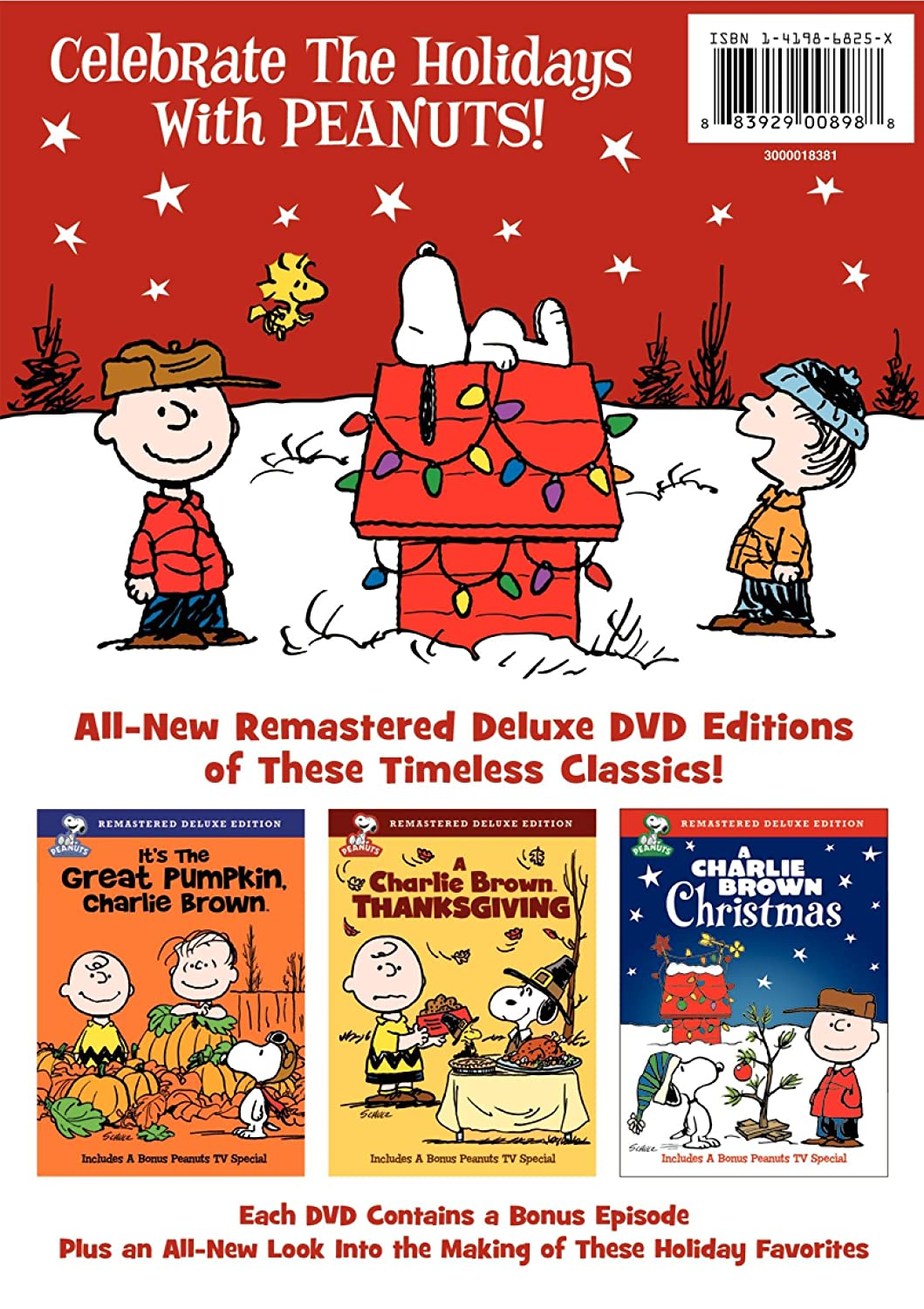 amazon com peanuts holiday collection it u0027s the great pumpkin