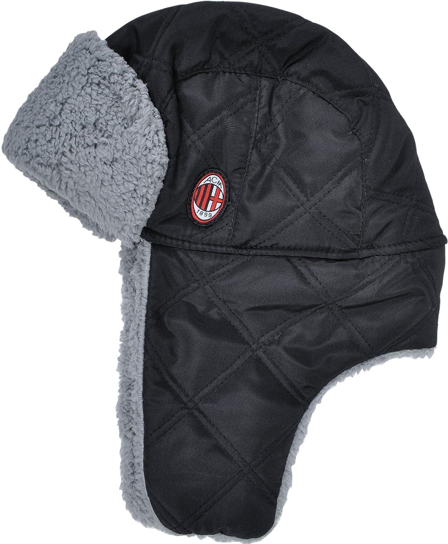 Exclusiv* AC Milan Mütze Winter Mütze Ski Mütze Junior EDEL