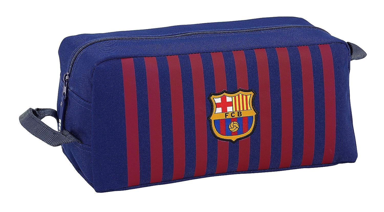 FC Barcelona 811829440 2018 Bolsa para Zapatos 34 cm, Azul