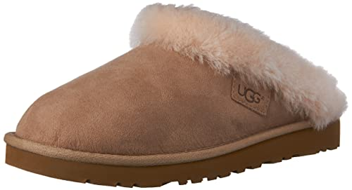 0563f1eceb2 Amazon.com | UGG Women's Cluggette Sand Twinface Slipper 5 B (M ...