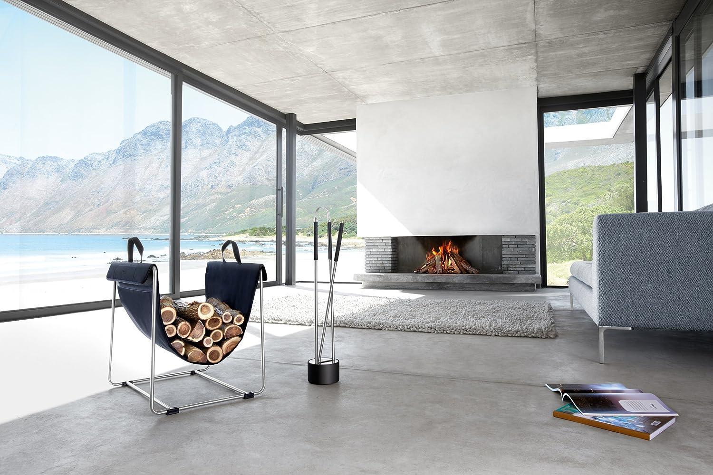 blomus 3-Piece Canneto Fireplace Tool Set