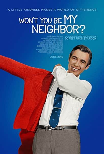 Image result for won't you be my neighbor poster
