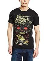 Plastic Head Men's Chelsea Grin Blood Brain Banded Collar Short Sleeve T-Shirt