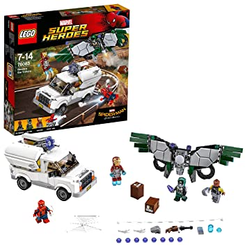 LEGO Super Heroes 76083 Spider-Man Beware the Vulture Toy: Amazon.co ...