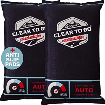 2 Pingi Car Dehumidifier Reusable Anti Mist Moisture Condensation Absorbing Bags