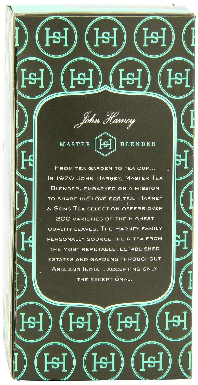 Amazon.com : Harney & Sons Herbal Tea, Organic Peppermint, 20 Tea ...