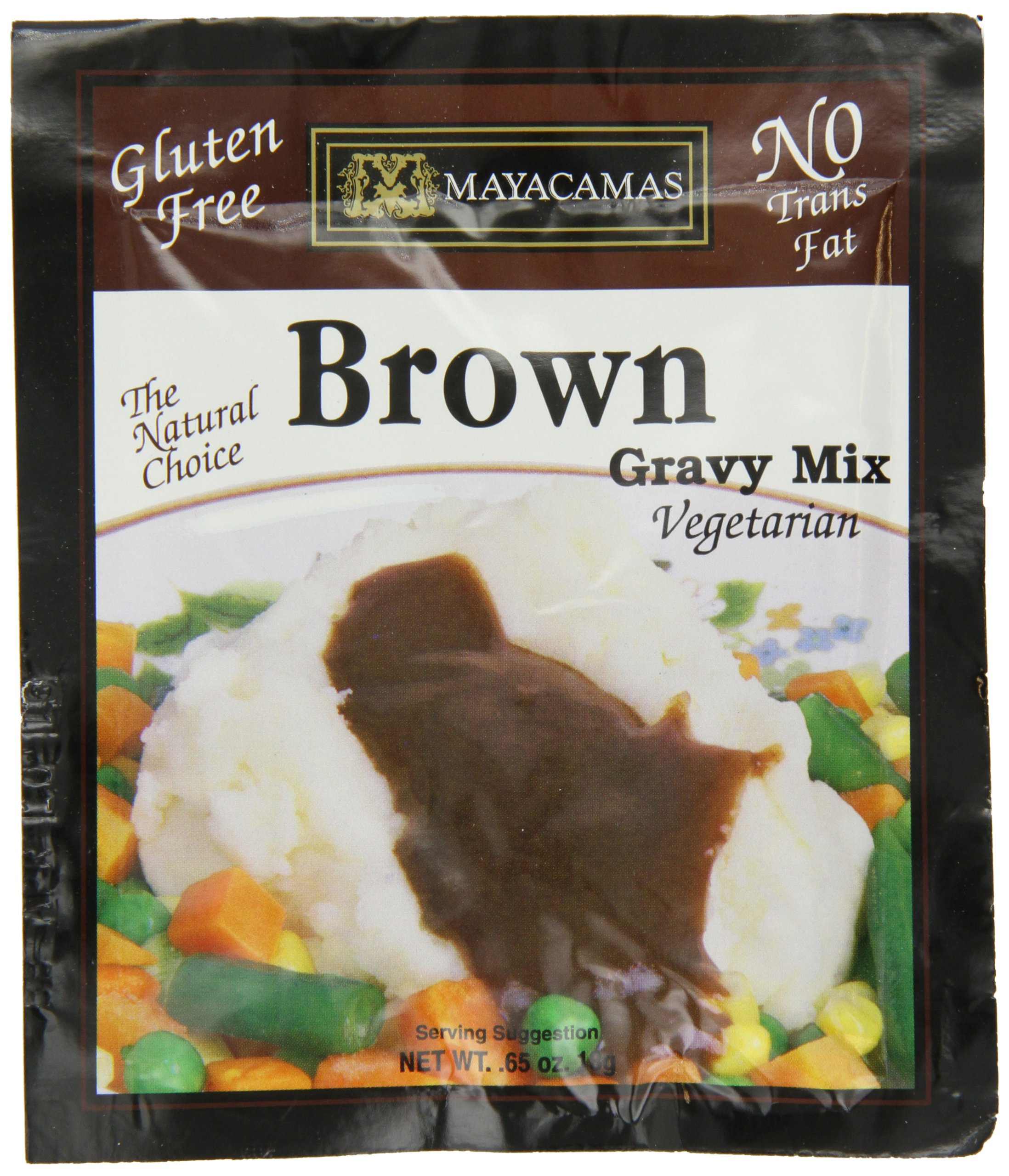 Mayacamas Brown Gravy Mix, 0.65-Ounce Units (Pack of 12) by Mayacamas