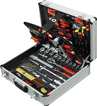 127pc Master Kit de herramientas en aluminio caja herramientas Set Caso mecánico hogar casa: Amazon.es: Bricolaje y herramientas