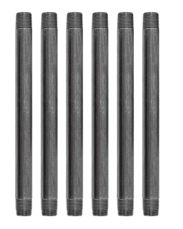 Array - amazon com  pipe decor 1 2 u201d x 10 u201d malleable cast iron pipe nipple      rh   amazon com