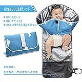 Alfheimおむつ取替えマット おむつ替えシート 高密度 ウォータープルーフシーツ 軽量 簡単折りたたみ おしめパッド 携帯便利 簡単お手入れ 洗濯可能 おもちゃリング付 赤ちゃんの動きも気にならないクッションマット 敏感肌に適しています