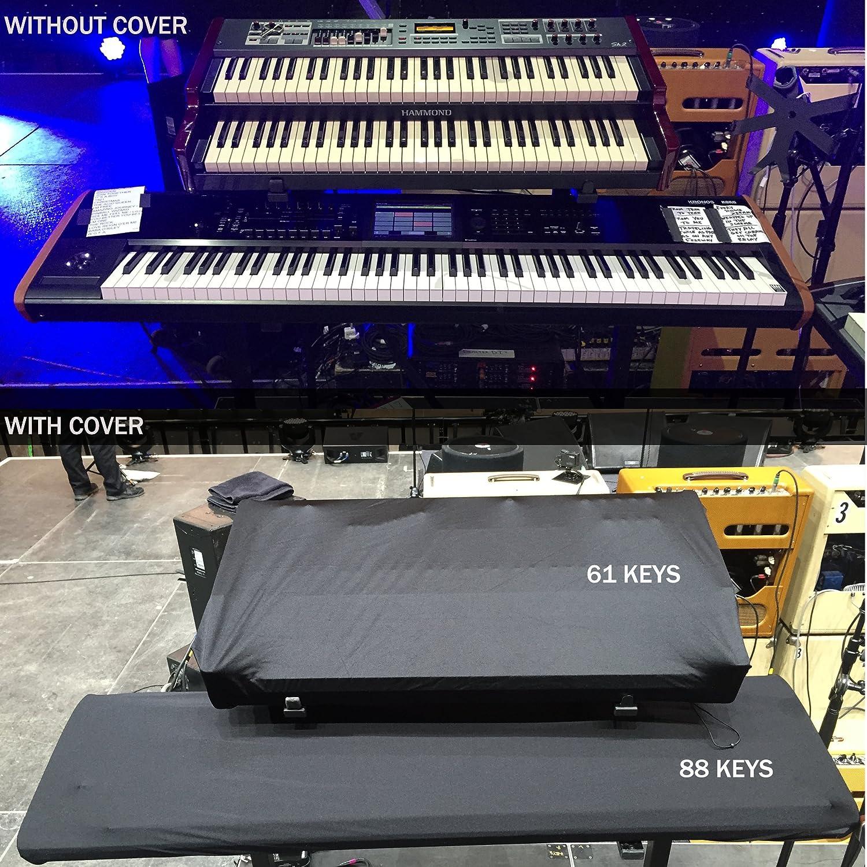 Piano Teclado extensible polvo cover para música, MIDI, Piano ...