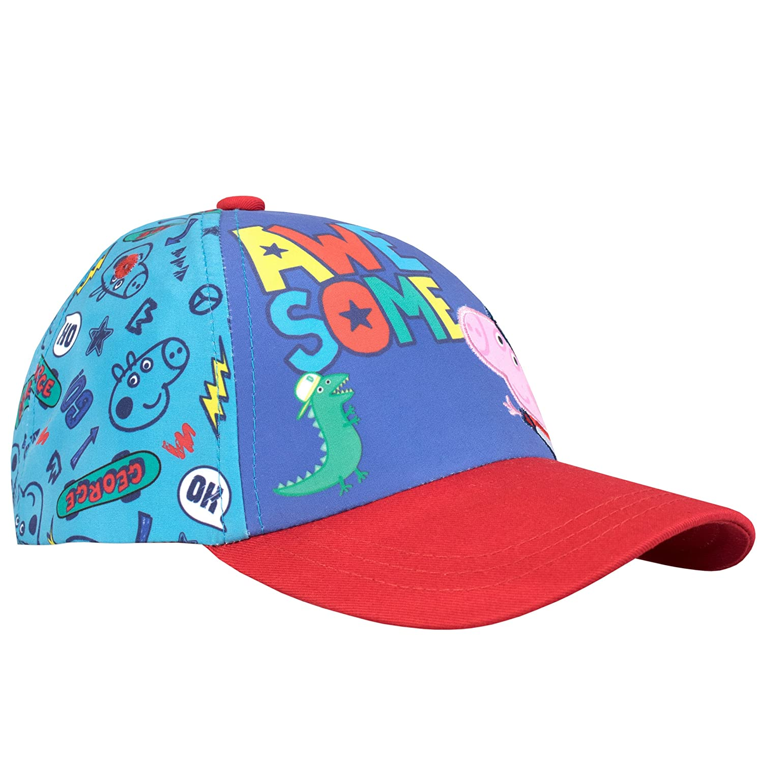Amazon.com: Peppa Pig Boys George Pig gorra de béisbol ...