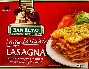 San Remo Large Instant Lasagna No.100, 250g