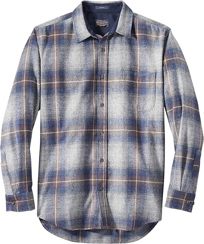 Pendleton Camisa clásica de manga larga con botón frontal para hombre - - Medium: Amazon.es: Ropa y accesorios