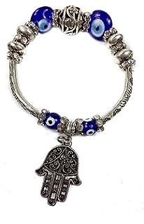 Nazareth Store Evil Eye Keychain Hamsa Fatima Hand ...