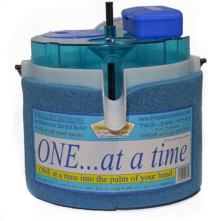 Ice fishing Minnow Bucket Baby Bubbles Portable Air Pump Live Bait Aerator