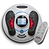 Heartline Electromagnetic Foot Massager & Body Therapy Machine, 25 Massage Modes, Remote Control, 8 Body Electrode Pads. Shiatsu, Acupuncture Modes & Many More (HEEWPFM)