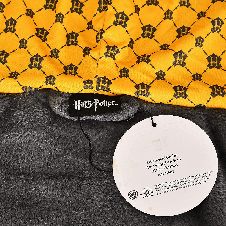 Elbenwald Harry Potter bathrobe Ravenclaw crest with hood 110cm blue