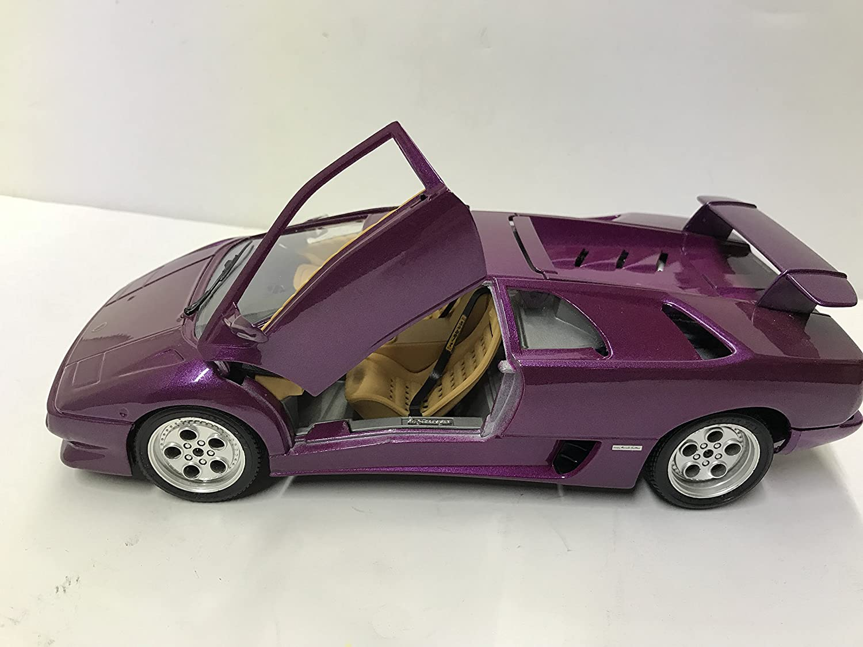 Amazon Com Bburago Lamborghini Red Diablo Car 1990 1 18 Scale Made