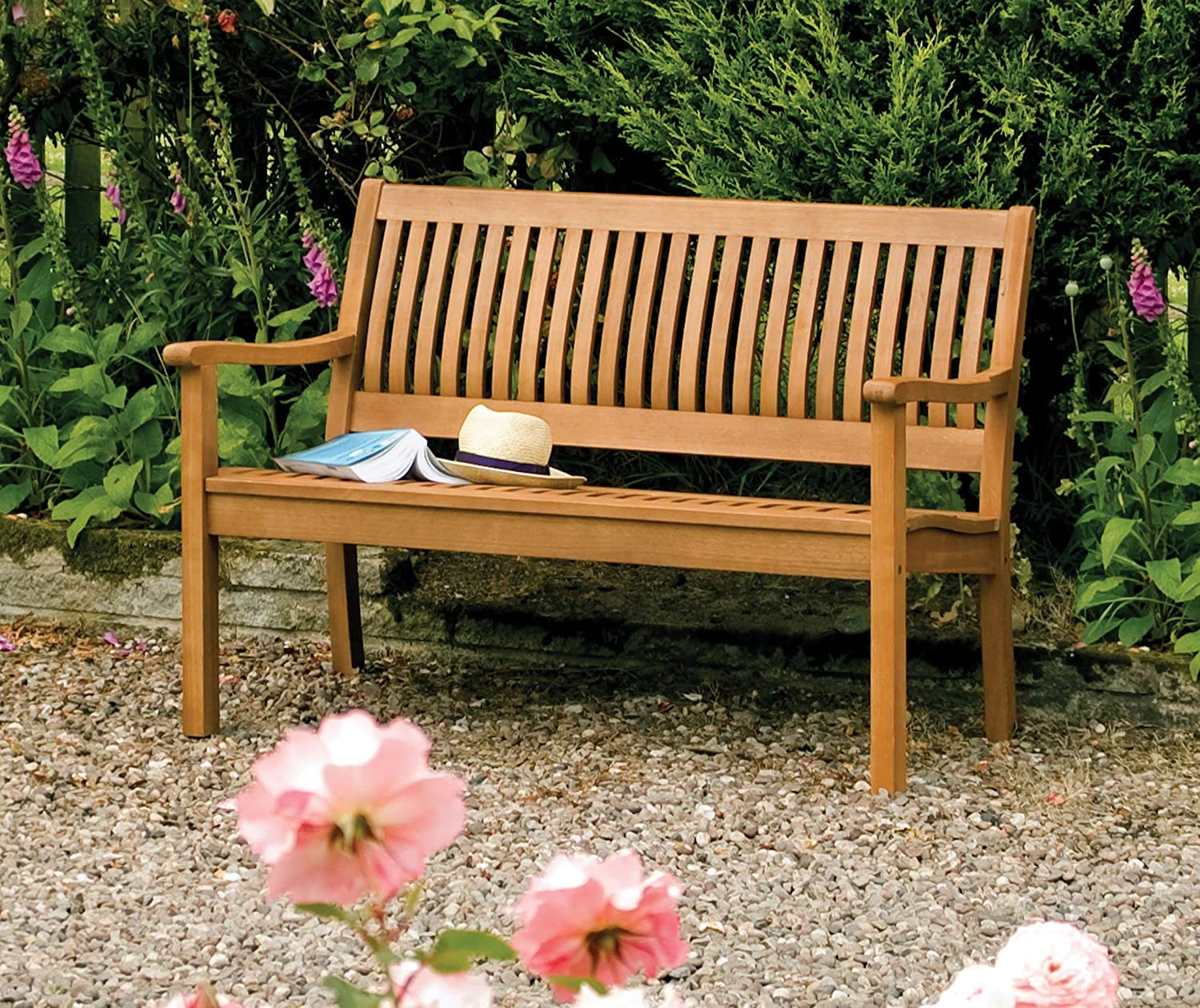 . Rowlinson Willington Bench  Amazon co uk  Garden   Outdoors