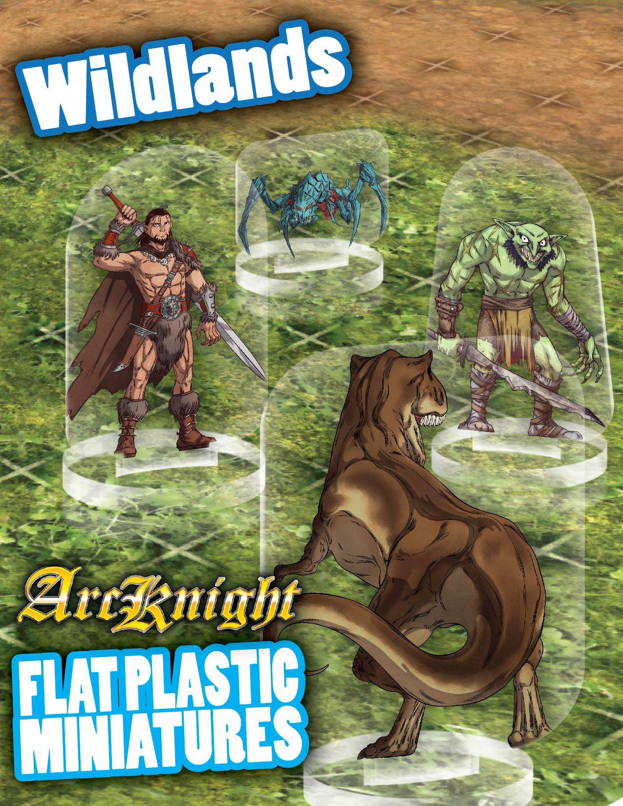 Arcknight Flat Plastic Miniatures: Wildlands by Arcknight