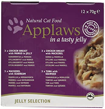 Applaws - Estaño para Gatos (24 x 70 g): Amazon.es: Productos para mascotas