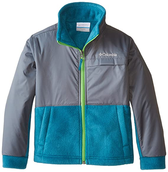 Columbia Big Boys' Steens MT Overlay, Deep Wave, X-Large