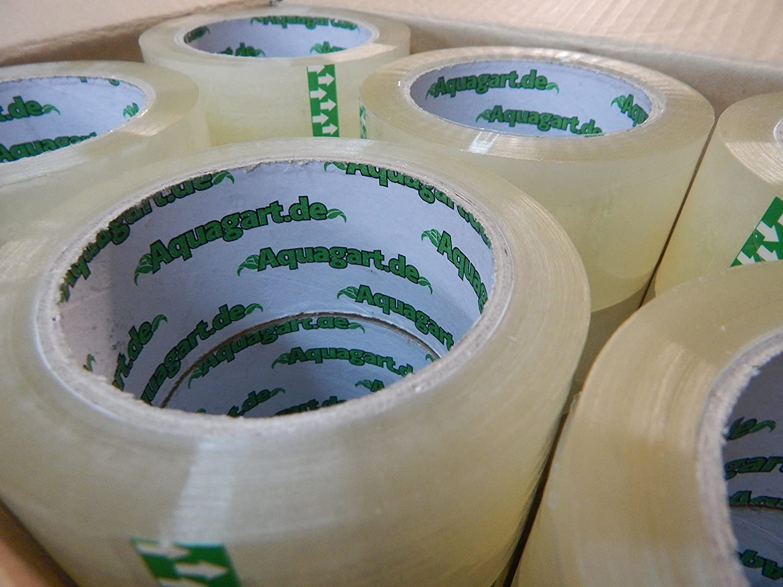 6/x aquag Art/® Professionnel Ruban adh/ésif Ruban Paquet Extra Fort Paquet Ruban adh/ésif transparent 50/mm x 66/m 60/my
