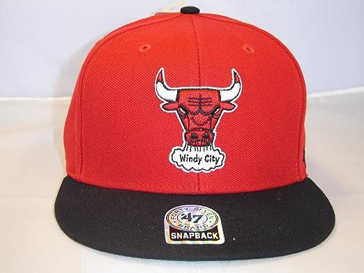 Chicago Bulls NBA 9FIFTY Black Snapback Cap size medium//large