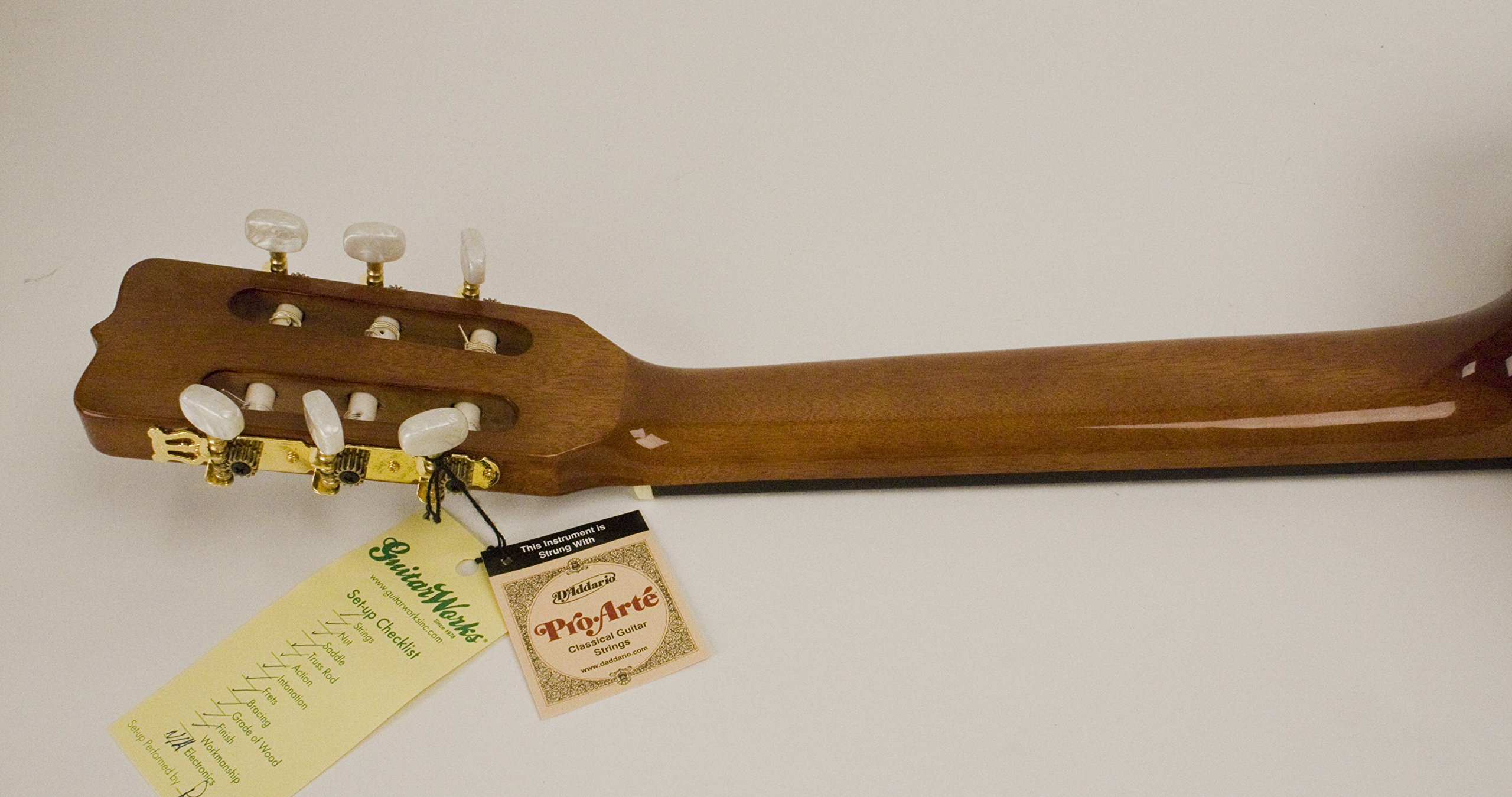 Left Handed Full Size Nylon String Classic Guitar Completely Set-up In My Shop For Perfect Play Strap & Case Included