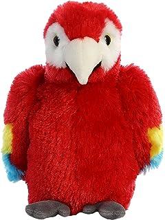 b8d1bf143e9 Aurora World 31738 8-Inch Mini Flopsie Scarlet Macaw Parrot Stuffed Toy