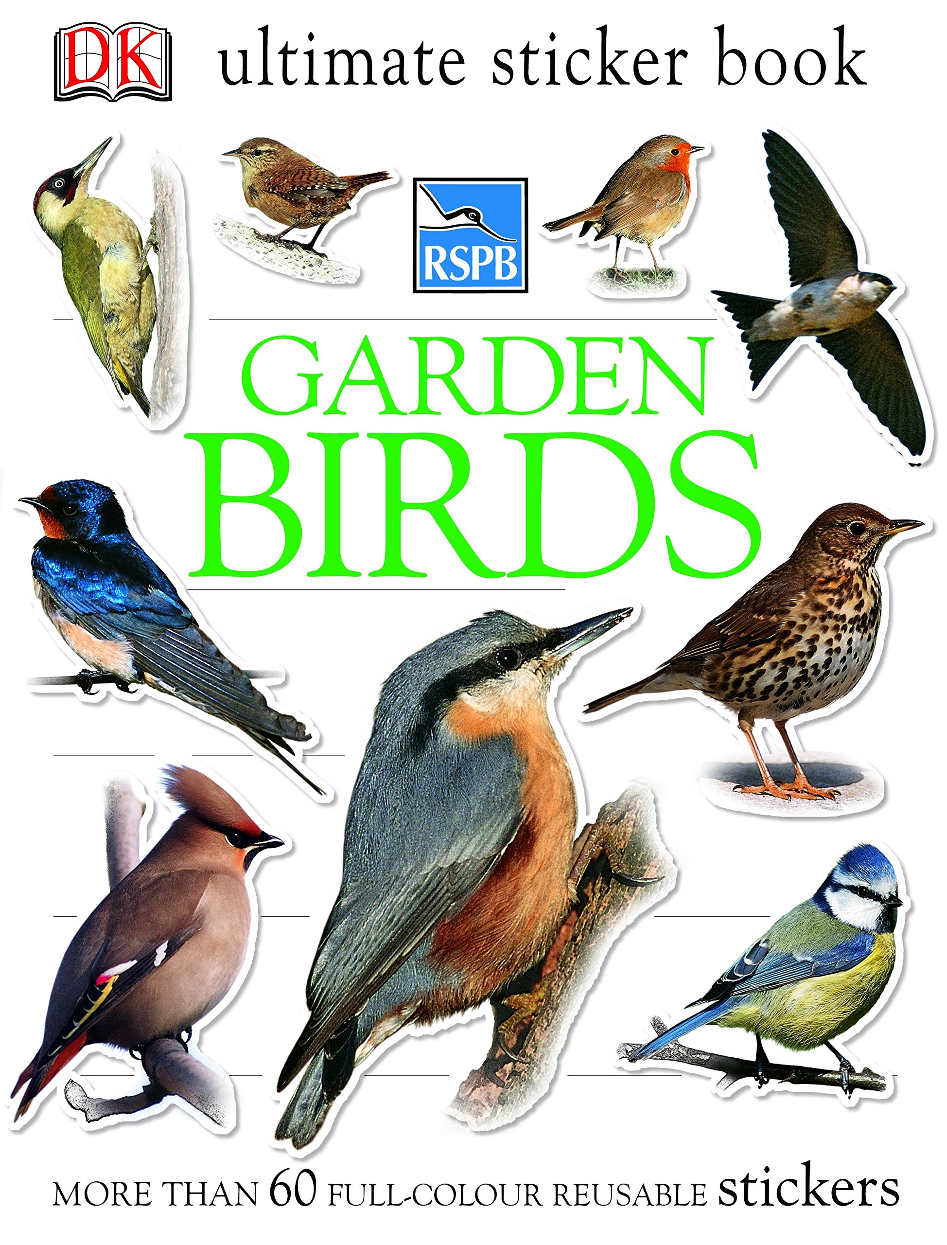 RSPB My First Book of Garden Birds Amazoncouk Mike Unwin