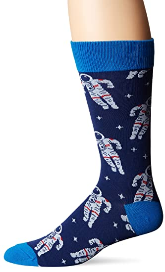 adf8a72187204 Amazon.com: Socksmith Men's Astronaut Navy 1 Sock: Home & Kitchen